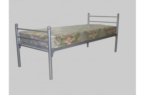 Кровати металлические армейского образца для размещения рабочих, строителей, ремонтников, фото — «Реклама Туапсе»