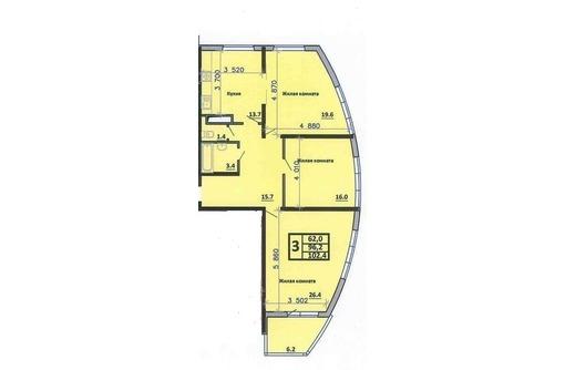 Продам 3кв Черемушки 103м элитный дом 3999 т.р, фото — «Реклама Краснодара»