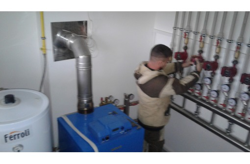 Монтаж отопления,водоснабжения,скважины., фото — «Реклама Краснодара»