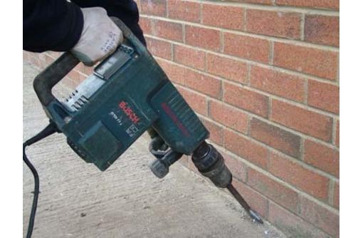 Отбойный молоток.Демонтаж.Слом стен, фото — «Реклама Анапы»