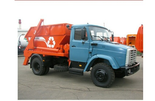 Вывоз строительного мусора бункером, фото — «Реклама Геленджика»