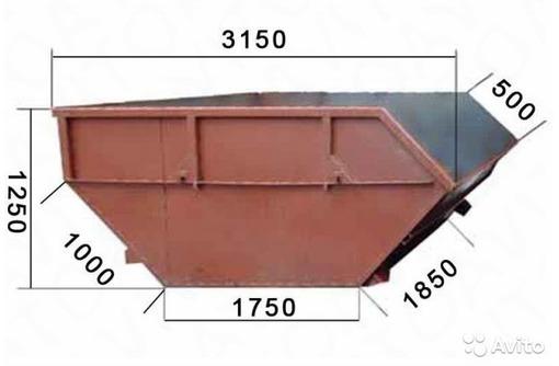 Контейнер(лодочка) Вывоз строительного мусора., фото — «Реклама Новороссийска»