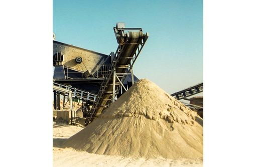 Крупнозернистый песок, мытый песок, карьерный песок, речной, фото — «Реклама Краснодара»