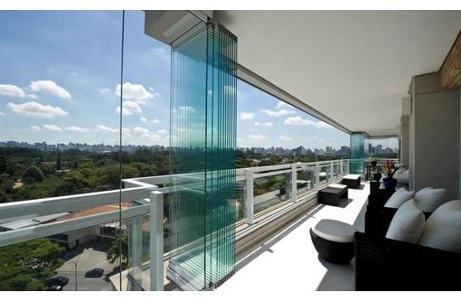 Безрамное остекление вернад, балконов, беседок, фото — «Реклама Краснодара»