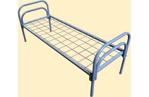 Кровать с металлическим изголовьем, фото — «Реклама Тихорецка»