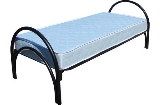 Кровать металлическая двуспальная купить, фото — «Реклама Курганинска»