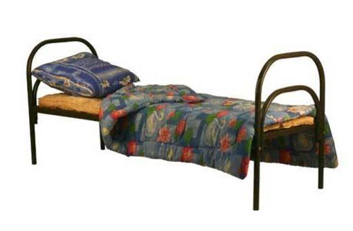 Металлические кровати для хостелов и дешевых отелей, фото — «Реклама Анапы»