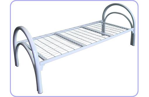 Двухъярусные кровати из металла для санаториев хостелов и общежитий, фото — «Реклама Курганинска»