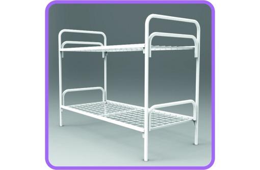 Кровати металлические для туристических баз отдыха мелким оптом, фото — «Реклама Гулькевичей»