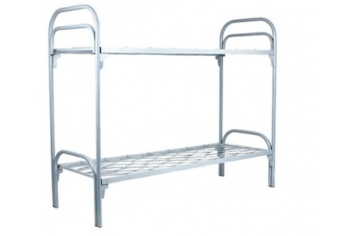 Кровати из металла двухъярусные санаторные, фото — «Реклама Приморско-Ахтарска»