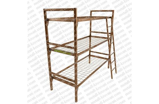 Металлические кровати для времянок и бытовок мелким оптом от производителя, фото — «Реклама Курганинска»