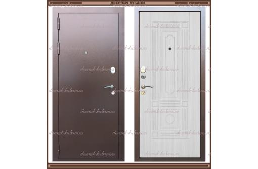 """Входная дверь """"Максимус 1,8 мм."""" Сандал белый 90 мм. Россия :, фото — «Реклама Краснодара»"""