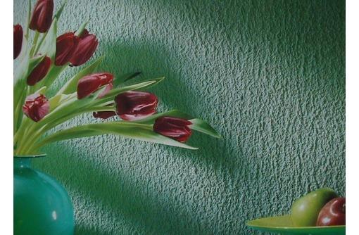 Отделка стен декоративной штукатуркой, фото — «Реклама Краснодара»
