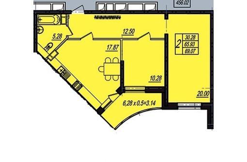 Продам  2кв ЖК Поющие фонтаны 69м ипотека цена 2750 т.р, фото — «Реклама Краснодара»