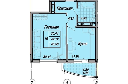Центр 1кв 44/19/12 кирпич ипотека цена 2540 т.р, фото — «Реклама Тимашевска»