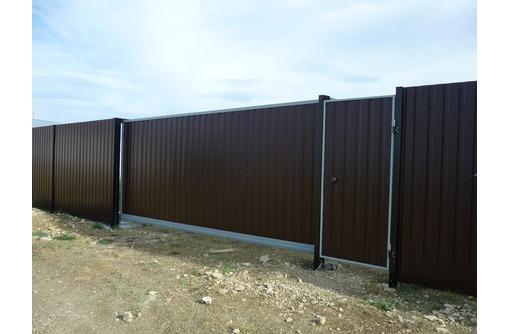 Заборы, ворота, калитки, навесы, решетки., фото — «Реклама Темрюка»