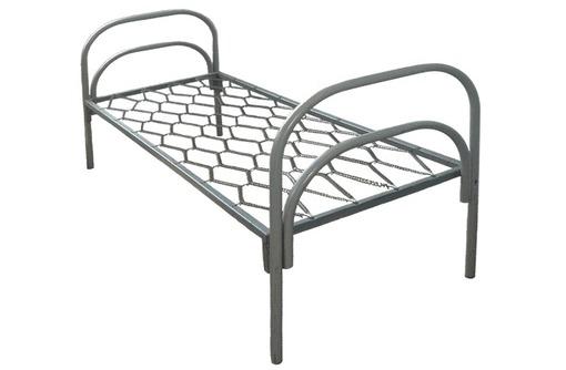 Купить металлическую двухъярусную кровать, фото — «Реклама Краснодара»