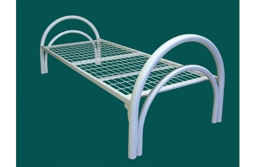 Металлические 2- ярусные кровати, фото — «Реклама Сочи»