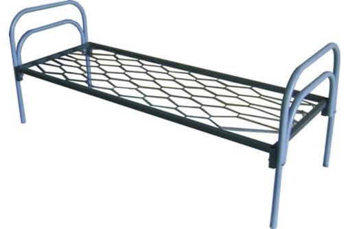 Кровати на металлических ножках, кровать с металлическим каркасом, кровать металлическая 160х200, фото — «Реклама Анапы»