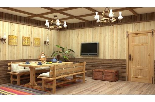 Изготовим деревянную отделку внутри помещений, фото — «Реклама Краснодара»