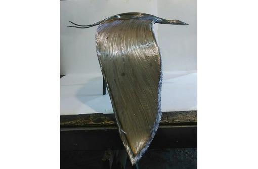 """""""Райские птицы""""-скульптура из металла, фото — «Реклама Белореченска»"""