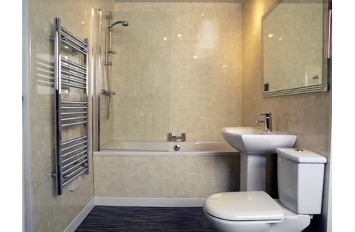 ремонт ванной комнаты пластиковыми панелями., фото — «Реклама Краснодара»