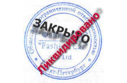 Ликвидация ООО, ИП  Без проверки, фото — «Реклама Краснодара»