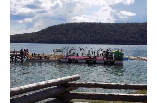 Модульная плавучая понтонная платформа, фото — «Реклама Сочи»