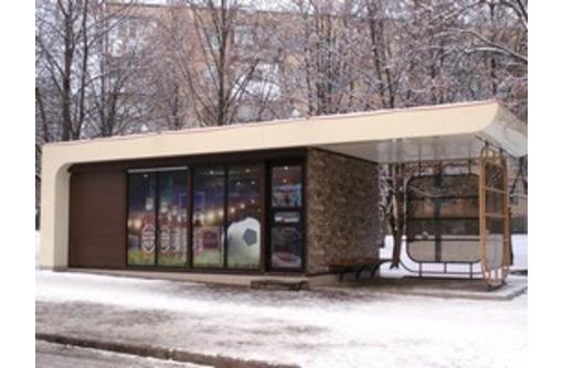 Торгово-остановочные комплексы и автобусные павильоны, фото — «Реклама Сочи»