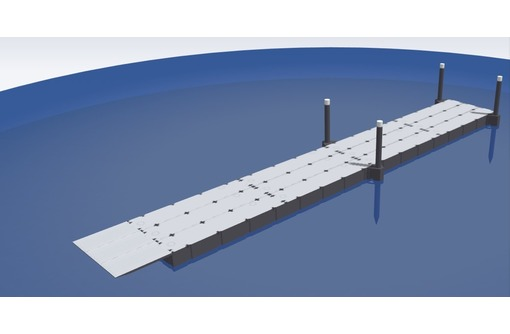 Понтонный мост ПМ-7,2, грузоподъемность до 60 тонн, фото — «Реклама Краснодара»