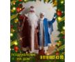 Поздравление Дед Мороза и Снегурочки, фото — «Реклама Анапы»