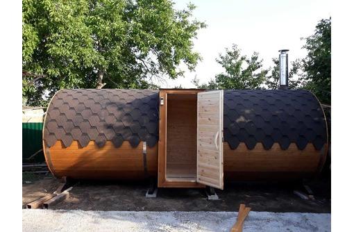 Баня-бочка, квадро-баня от производителя, фото — «Реклама Кореновска»