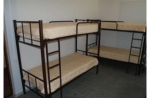Изготавливаем кровати двухъярусные, односпальные на металлокаркасе для хостелов, гостиниц баз отдыха, фото — «Реклама Темрюка»