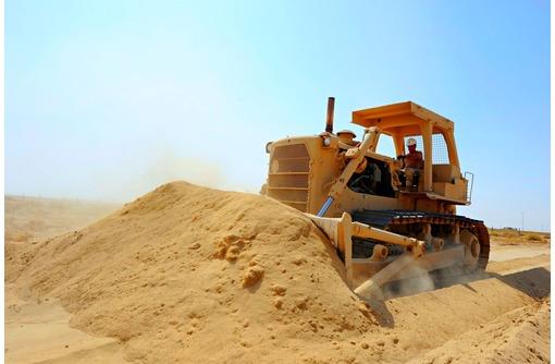 Песок для отсыпки, подсыпки траншей в Краснодаре с доставкой, фото — «Реклама Краснодара»