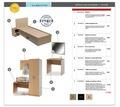 Комплект мебели для гостиницы ЛДСП Эконом - Специальная мебель в Кубани