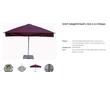 Зонт для санаторий и пляжей телескопический  с центральной стойкой., фото — «Реклама Краснодара»