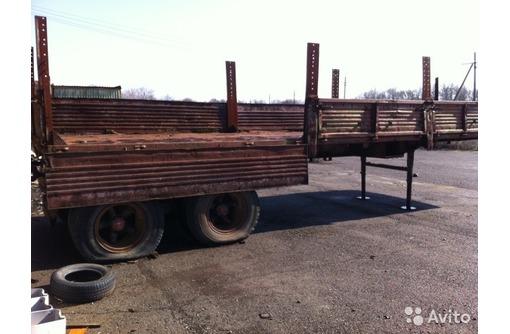 Продаю Полуприцеп фургон Камаза 9 метровый, 1990г.в. в рабочем состоянии, фото — «Реклама Краснодара»