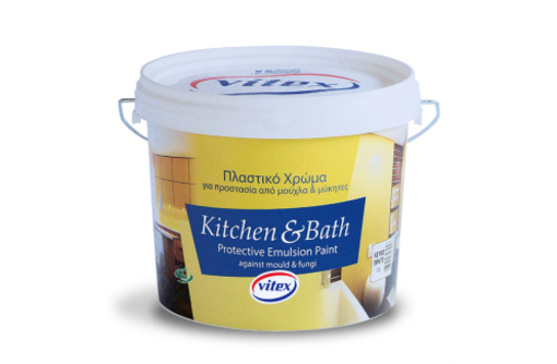 Влагостойкая краска KITCHEN & BATH Vitex Греция., фото — «Реклама Краснодара»