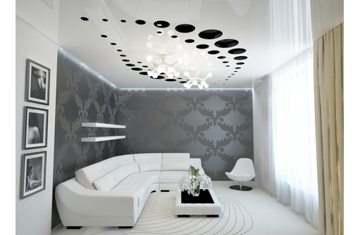 Натяжные потолки от производителя, фото — «Реклама Краснодара»