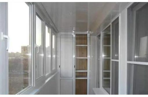 Расширение, остекление балконов, ремонт обшивка профиль, пласт, фото — «Реклама Армавира»