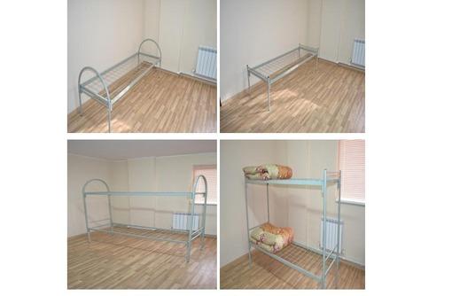 Кровати металлические для строителей оптом и в розницу с доставкой, фото — «Реклама Усть-Лабинска»