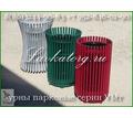 Урны уличные металлические для мусора УМт-1 - Садовая мебель и декор в Сочи