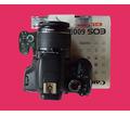 зеркальный цифровой  фотоаппарат Canon 600d бу в отличном состоянии - Продажа в Краснодаре