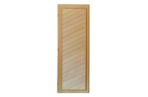 Дверь для бани глухая из липы 1,90х0,70, фото — «Реклама Апшеронска»