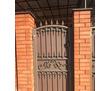 Кованые ворота и калитка, фото — «Реклама Белореченска»