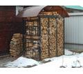 Большая, удобная  дровница - Садовая мебель и декор в Новокубанске