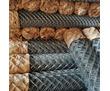 Сетка Рабица оцинкованная в рулонах оптом и в розницу с доставкой, фото — «Реклама Тихорецка»