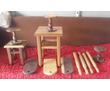 Табуреты и столы из ореха на заказ, фото — «Реклама Армавира»