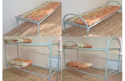 кровати металлические армейского типа, фото — «Реклама Сочи»
