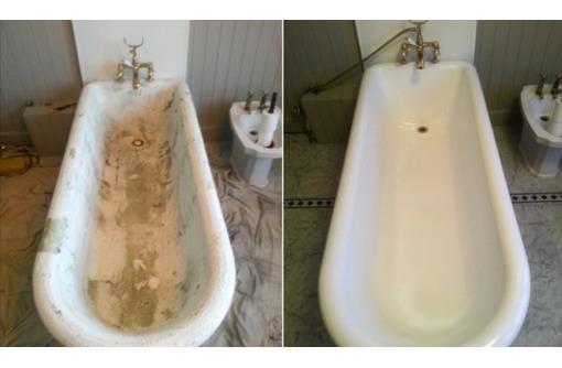 Реставрация ванн, эмаль, жидкий акрил, фото — «Реклама Геленджика»